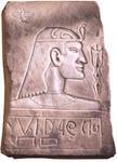 Figura de corte egipcio, pero en este caso, estamos en la Cueva Burrows.