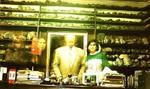 Transparencias corpóreas de visitantes en despacho Dr. Cabrera, aprox.1997s en en despacjo
